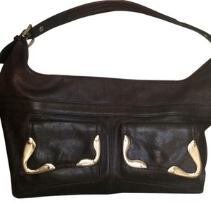 Via Spiga Tote in Chocolate Brown