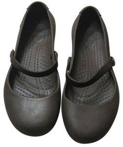 Crocs Brown Flats