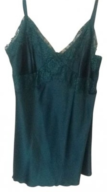 Preload https://img-static.tradesy.com/item/147337/express-teal-silk-with-lace-detail-tank-topcami-size-4-s-0-0-650-650.jpg