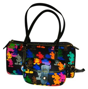 Dooney & Bourke Satchel in rainbow