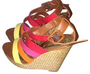 Herstyle Rainbow color Wedges