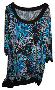 Tiana B. Plus Plus-size Tunic Shift Dress