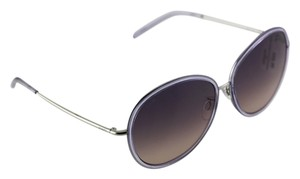 Tod's Tod's Women's Round Translucent Grey/Silver Sunglasses