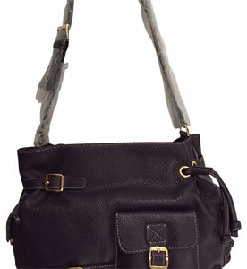 Maxx New York Satchel in Eggplant