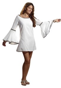 Lirome short dress White Ethnic Resort Micro-mini on Tradesy