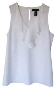 White House | Black Market Sleeveless Top Silk
