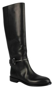 Balenciaga Investment Piece Classic Riding Edgy Leather Black Boots