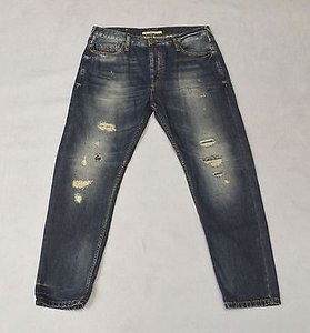 Maison Scotch Distressed Boyfriend Cut Jeans