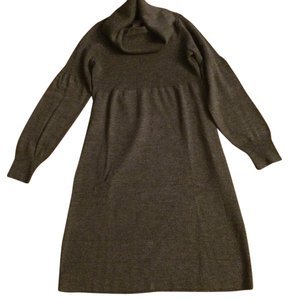 Ann Taylor short dress Heather Gray Sweater Gray on Tradesy