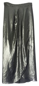BCBGeneration Tulip Drape Maxi Skirt Black