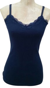 Old Navy Lace Navy Top blue