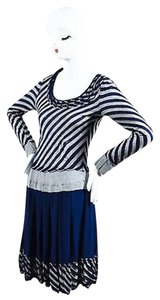 Moschino short dress Multi-Color Cheap And Chic Navy on Tradesy