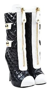Moschino Couture And Black Boots