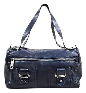 Marc Jacobs Navy Leather Shoulder Bag