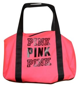 Victoria's Secret Gym Workout Pink Travel Bag