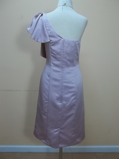 Alfred Angelo Loves First Blush Satin 508 Formal Bridesmaid/Mob Dress Size 8 (M)
