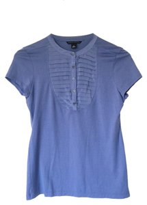 Banana Republic Tunic Pleated Top Silk