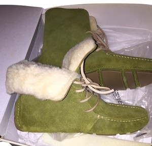 Banana Republic Green Apple Boots