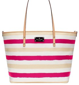Kate Spade Tote in Pink And Cream