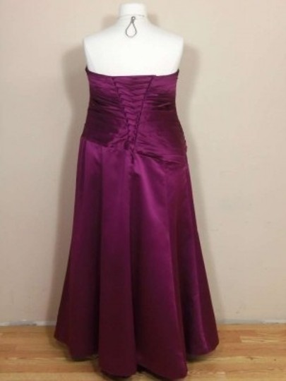 Alfred Angelo Berry Satin 7006 Formal Bridesmaid/Mob Dress Size 20 (Plus 1x)
