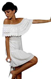 Lirome short dress White Country Cottage Chic on Tradesy