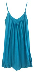 Soprano short dress Teal Blue on Tradesy