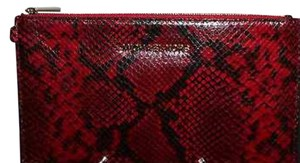 Michael Kors Red/Black Clutch