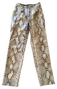Perry Ellis Vintage Authentic Python Rockandroll Skin Snake Straight Pants PYTHON SNAKESKIN