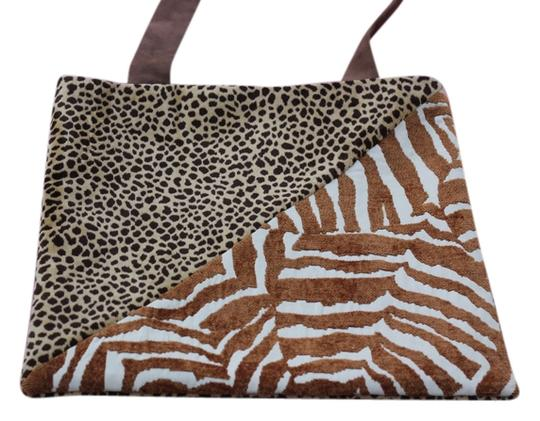 Macine Lorenzo Tote in Animal Print