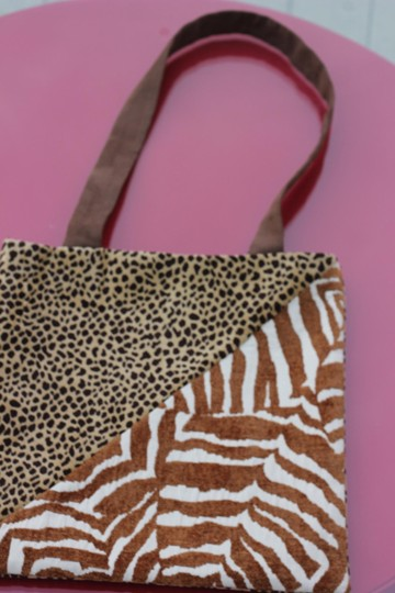 Macine Lorenzo Tote in Animal Print Image 1