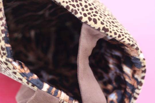 Macine Lorenzo Tote in Animal Print Image 4