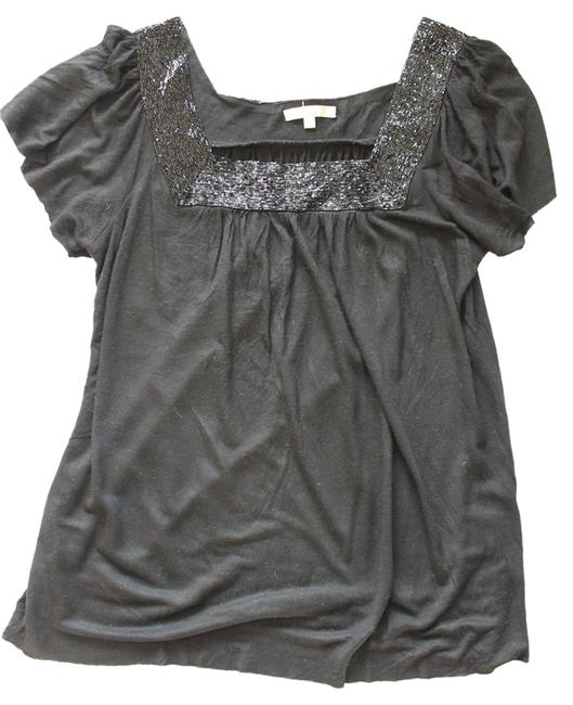 Preload https://img-static.tradesy.com/item/1474131/matty-m-black-beaded-shirt-night-out-top-size-4-s-0-0-650-650.jpg