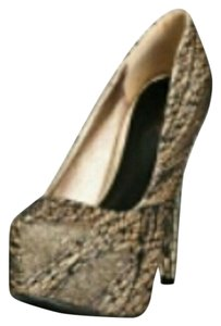 Fashionette Style Boutique Champagne Pumps