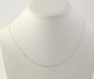 Cable Chain Necklace - 18 Sterling Silver 925 Womens Fashion Spring Ring Clasp