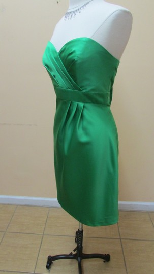 Alfred Angelo Shamrock Satin 7073 Formal Bridesmaid/Mob Dress Size 14 (L)
