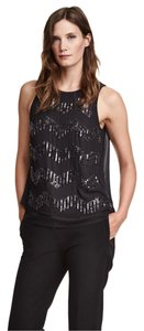 H&M Cocktail Evening Wedding Party Club Wear Top Black