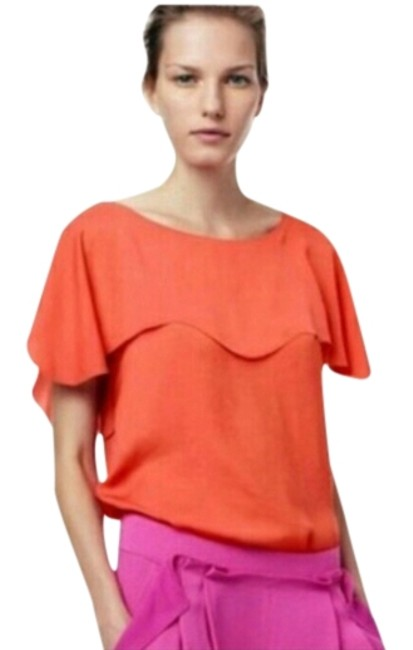 Preload https://img-static.tradesy.com/item/1474392/fashionette-style-boutique-orange-blouse-size-8-m-0-0-650-650.jpg