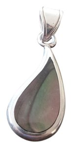 Other Sterling Silver Teardrop-Shaped Pendant