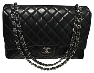 Chanel Lambskin Maxi Flap Flapbag Flap Shoulder Bag