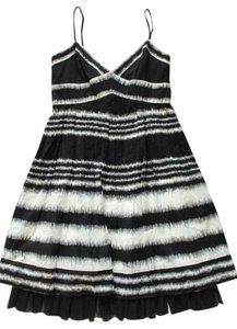 BCBG Max Azria Black White Dress