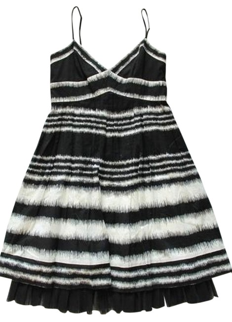 Preload https://item5.tradesy.com/images/bcbgmaxazria-blackwhite-bcbg-max-azria-blackwhite-striped-above-knee-cocktail-dress-size-4-s-1474409-0-0.jpg?width=400&height=650