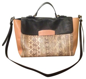 By Malene Birger Leather Top Handle Cross Body Bag