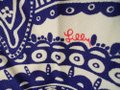 Lilly Pulitzer Blue & White Floral Paisley Pants Size 10 (M, 31) Lilly Pulitzer Blue & White Floral Paisley Pants Size 10 (M, 31) Image 4