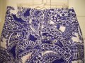 Lilly Pulitzer Blue & White Floral Paisley Pants Size 10 (M, 31) Lilly Pulitzer Blue & White Floral Paisley Pants Size 10 (M, 31) Image 7