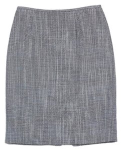 Lafayette 148 New York Periwinkle Brown Suit Skirt
