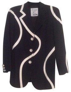 Moschino Black & white Blazer