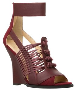 GX by Gwen Stefani Bohemian Wedge Bordeaux Bordeaux/Wine Brown Sandal Wedges