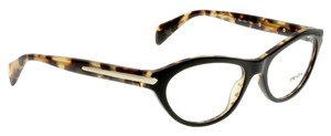Prada Prada Eyeglasses Black and Tortoise