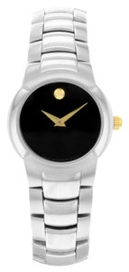 Movado Movado Museum 25mm Stainless Steel Quartz Ladies Watch