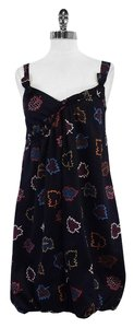 Marc by Marc Jacobs short dress Navy Leaf Print on Tradesy
